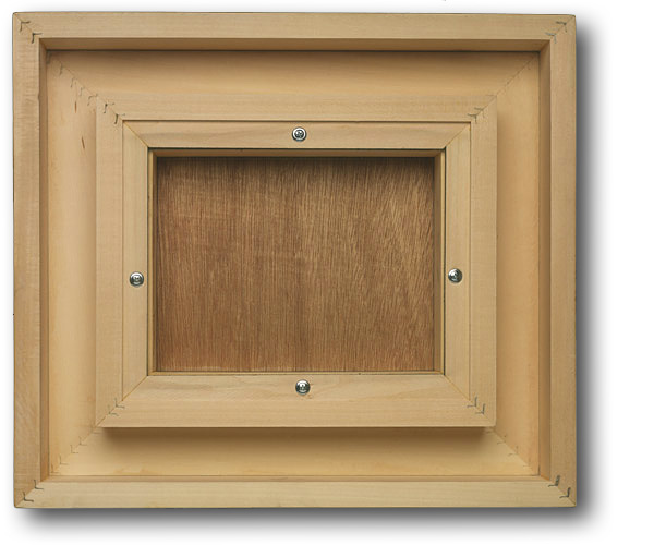 Floater Frames In Maple Or Basswood For Fine Art
