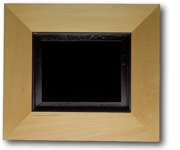 Floater frames in maple or basswood for fine art