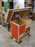 Bobino's Router Table, lifted table, front view
