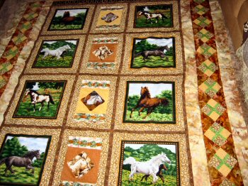 ribbon new keepsake quilts dcp quilt silk zealand horse
