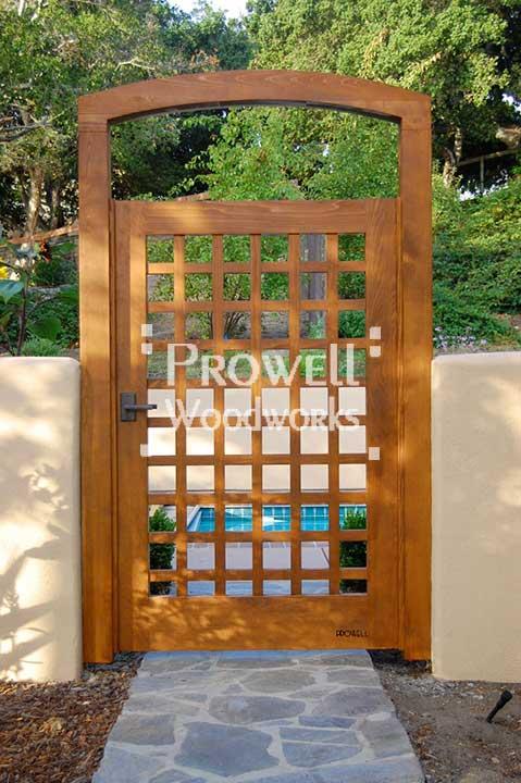 Prowell Woodworks Garden Arbor Trellis 9