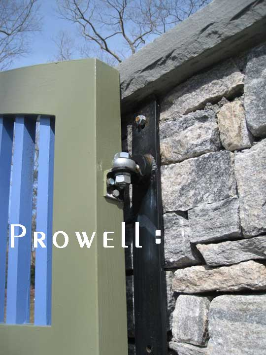 Custom Wood Driveway Gate 14 By Prowell Woodworks