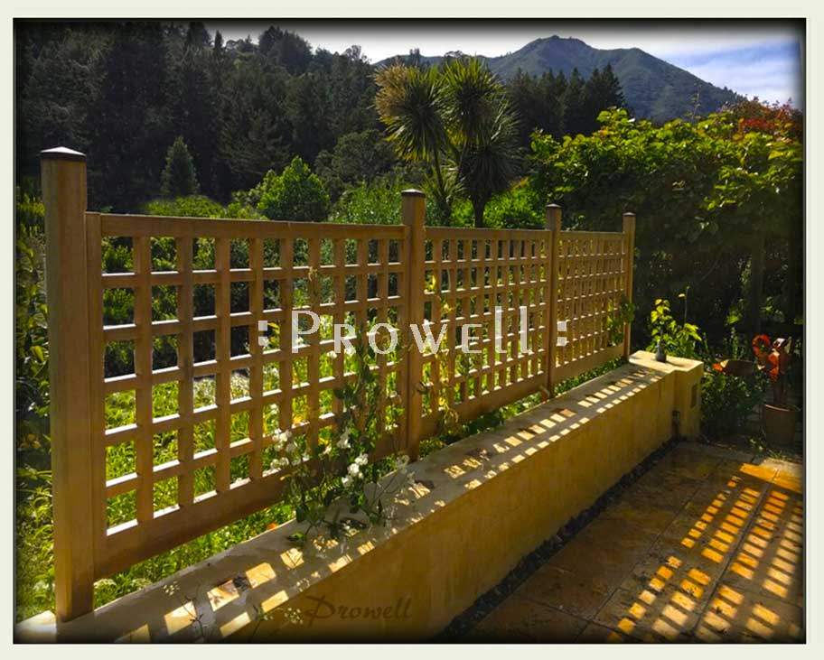 Custom Wood Fence Panels 21 By Prowell Woodworks