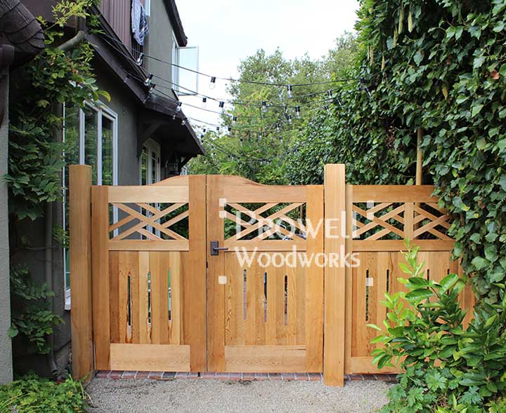 Home Design Gate Ideas: Colonial Wood Fence Panels #23