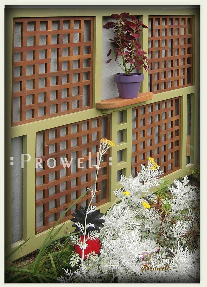 Custom Wood Garden Trellis Panel 5 by Prowell Woodworks