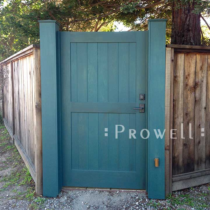 Wooden Solid Privacy Garden Gate 30