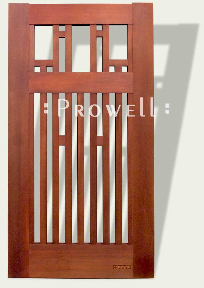Arts And Crafts Wood Gate 38 By Prowell Woodworks