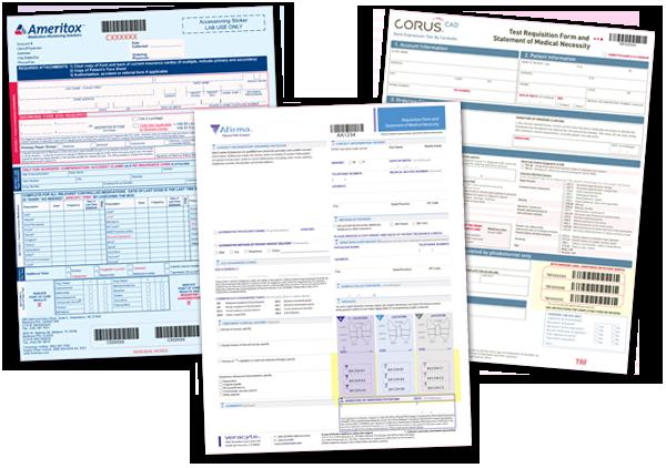 JK Data Corp - Laboratory Requisition Documents