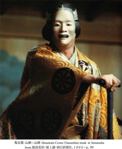 Saa Fall 2005 Noh Drama Yamamba Notes And Masks